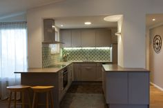 Kitchen with Via tiles Best Interior, Tiles, Kitchen Cabinets, Interiors, Furniture, Color, Home Decor, Nice Asses, Room Tiles