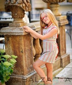 "#salzarra #girl #dress #fashion #kids Dress – ""Joyful Rainbow"""