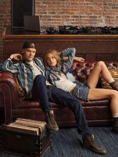 Avicii & Camille Rowe - Ralph Lauren Denim & Supply F/W 14