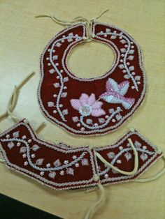 Iroquois raised beadwork by the talented Oneida artist..  Loretta Webster
