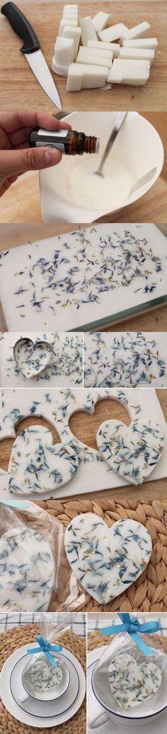Jabones DIY para regalar / http://myweddingdiario.com
