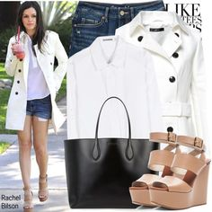 Get the Look: Rachel Bilson, created by kusja on Polyvore