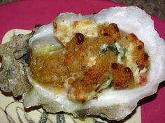These Gulf Coast oysters are plump and juicy and by topping them with cream cheese, bacon, spinach, and Parmesan they are turned into a creamy, rich, and super delicious appetizer.