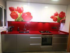 Modelo: Ibañeta /  Colores: Blanco y Inox /  Motivos: Escogidos por el Cliente Cocinas Kitchen, Kitchen Cabinets, Home Decor, Templates, White People, Colors, Decoration Home, Room Decor, Kitchen Base Cabinets