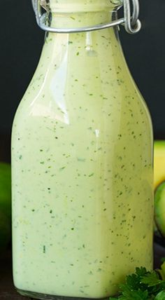 Avocado Greek Yogurt Ranch Dressing