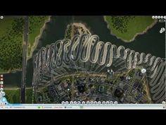 SimCity TrackMania City