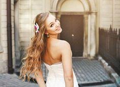 Matrimonio.it   #Acconciature 2016 per la #sposa con i #capelli lunghi #updo #look #hair