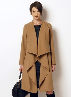 B6244 | Butterick Patterns coat nd dress
