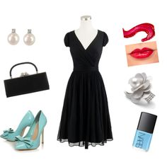 an evening out, created by bearmommy35 on Polyvore