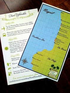 Passport Destination Wedding Invitation Tropical Jamaica