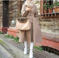 Casual brownish outfits with hijab – Just Trendy Girls Hijab Casual, Hijab Outfit, Girl Hijab, Hijab Chic, Abaya Fashion, Muslim Fashion, Modest Fashion, Collage Outfits, Abaya Mode