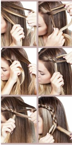 real tutorial for braided crown