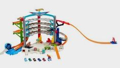 Hot Wheels Ultimate Garage Playset, Standard Packaging: Toys Amazon http://amzn.to/2egsO3k