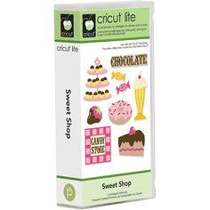 Cricut Lite Sweet Shop Cartridge