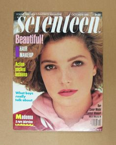 vintage october 1986 seventeen #magazine--madonna interview tracy pollan  from $7.99