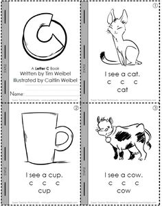 Caitlin's cute mini-book graphics help students learn to read!  Link: http://www.superteacherworksheets.com/minibooks/c-mini-book_WNZDB.pdf