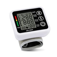 Health Care Automatic Wrist Digital Blood Pressure Monitor Tonometer Meter for Measuring And Pulse Rate