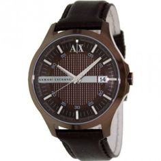 2ad9ef55313 Relógio Armani Exchange Brown Dial Brown Ion-plated Mens Watch AX2123   Relogio  ArmaniExchange
