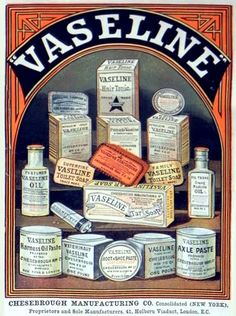 May 14, 1878: Vaseline Petroleum Jelly is first sold.