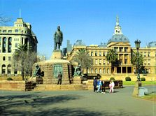 Explore the Jacaranda City, Pretoria (Tshwane), the administrative capital of South Africa on this South African holiday. Places of interest to visit South Africa Tourist Attractions, Local Attractions, South African Holidays, Museum Art Gallery, Pretoria, Places Of Interest, 19th Century, Tourism, Places To Visit