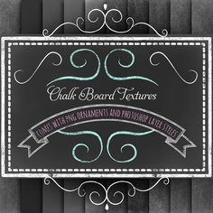 Free Chalk Board Textures Kit & Adorable Chalk Style Fonts | Starsunflower Studio Blog