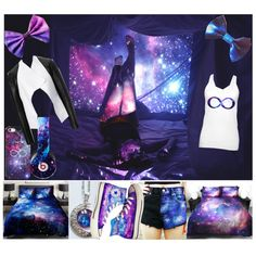 galaxy :) by katie-styles4u on Polyvore featuring David Koma, Converse, Beats by Dr. Dre and galaxy