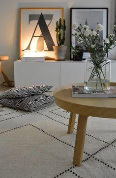 moderni puutalo: Olkkarin huonekaluruletti