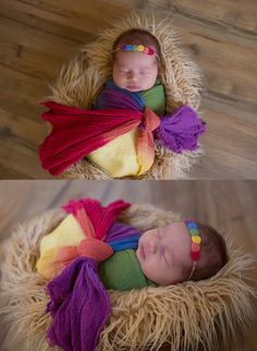 Newborns | Lissarie Photography | Orange County, CA | #rainbowbaby | props by Red Owl Props