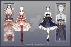 [Open] Design adopt_144-145 by Lonary.deviantart.com on @DeviantArt