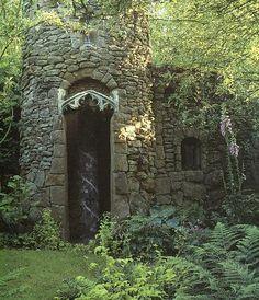 gothic stone cottage  --  Romany Soup: Garden Envy