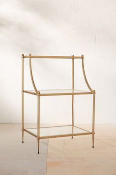 Regency Side Table - Urban Outfitters Cheaper version of a pottery barn side table. Like the idea of mixing metals potentially Apartment Furniture, Home Decor Furniture, Living Room Furniture, Urban Outfitters, Sofa Shop, Teen Girl Bedrooms, Inspired Homes, Room Inspiration, Home Accessories