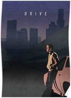'Drive' Poster by Oliver Shilling Millions of unique designs by independent artists. Find your thing. 'Drive' Poster by Oliver Shilling Millions of unique designs by independent artists. Find your thing. Best Movie Posters, Minimal Movie Posters, Cinema Posters, Movie Poster Art, Poster S, Film Posters, Great Films, Good Movies, Love Movie