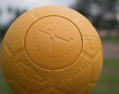This is a great example of design and manufacturing innovation being used to solve a problem. The One World Futbol is made with a new EVA foam material that is similar in characteristics to traditional stitched soccer balls, which deflate and get destroyed within 24 hours in harsh 3rd world playing conditions. Statistically, 20 million deflated soccer balls are thrown away yearly in Africa alone.
