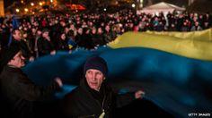 Ukraine: Russia recalls ambassador as Kiev turns towards EU - Source - BBC News - © 2013 BBC #Ukraine, #Russia, #EU