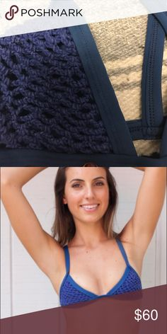 Posh Pua crochet top Super comfortable. Can surf in it Posh Pua Swim Bikinis