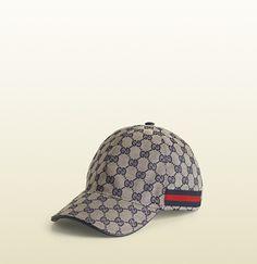 Gucci - gorra de béisbol con patrón de GG y detalle de tribanda  200035F4CRG4080 Maletines 3df58e47928