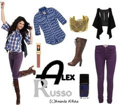 """""""Alex Russo 2"""" by grecher ❤ liked on Polyvore"""