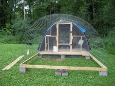 ilt a similar shelter for my sheep one winter and it was the smartest ...