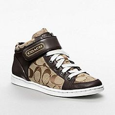 i already have like 3 pairs of coach sneakers and i never wear them but i have a bit of a shoe problem.