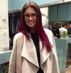 Antonia Iacobescu new hair