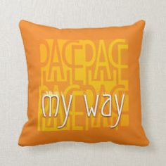This is my way - and my life! Think, Statements, My Way, My Life, Peace, Throw Pillows, Map Invitation, Cushions, Room