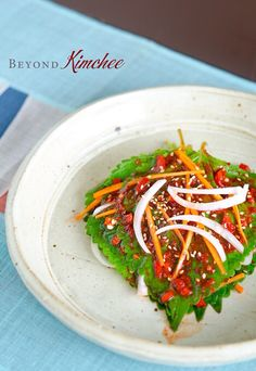 Perilla Leaf Kimchi, the summer Kkatnip Kimchi by BEYOND KIMCHEE on AUGUST 17, 2012 · 13 COMMENTS