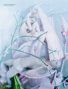 Tim Walker pays tribute to Hieronymus Bosch with a fashion story - 时尚摄影 - CNU视觉联盟
