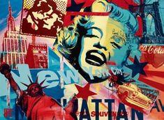Raynal Marilyn Monroe Collage