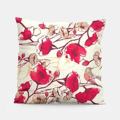 bloom boom Pillow #pillows #pillow #forhome #pillowlove #interiordesign #liveheroes #flowerspillow #ideasforhome #home #interior