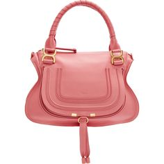 chloe purse in coral
