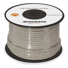 High temp Lead Wire, 12 Ga, Max Temp 842 F by Tempco. $580.79. Types MG, TGGT, and PTFE High-Temp. Lead WiresFor commercial or industrial applications, heaters, furnaces, kilns, and food service equipment.Type MGMica glass composite insulation over stranded nickel-clad copper conductors. Covered by fiberglass overbraid with high-temp. finish for superior insulation and dielectric strength.UL 5335/5107, CSA AWM Class 1 Group A/B FT-1.Rated for 600VThis item is manufactur...
