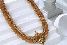 Jewelry OFF! 2 in 1 Ram Parivar Haram - Latest Indian Jewellery Designs Antique Jewellery Designs, Gold Jewellery Design, Antique Jewelry, Gold Temple Jewellery, Pearl Jewelry, Indian Jewelry, Gold Jewelry Simple, Bridal Jewelry Sets, Bridal Necklace