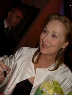 when i met Meryl Streep. Meryl Streep, Shes Amazing, I Am Awesome, Grace Gummer, Female Actresses, Oscar, Aging Gracefully, Look Alike, Best Actress