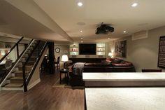 Winona Residence - contemporary - basement - toronto - Interior Works Inc